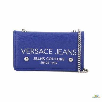 Versace Jeans Blue Clutch Bag