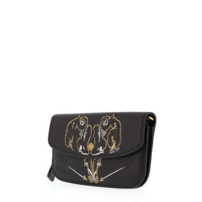 Coach Clutch Handbag 37370 - Black 1