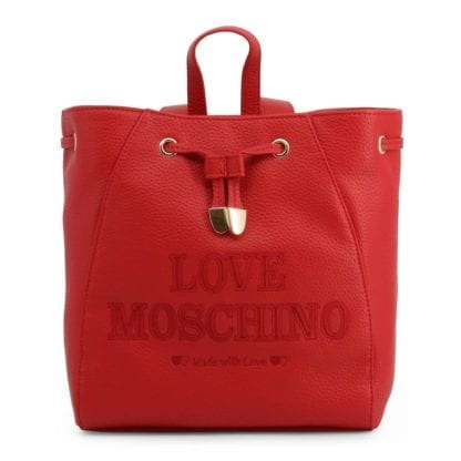 love moschino luxury backpack