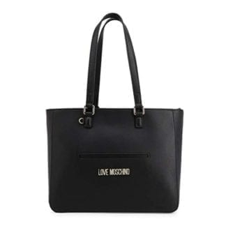 Love Moschino - JC4103PP1ALQ - The Vibrant Black Shoulder Bag 4