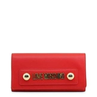 luxury red clutch bag