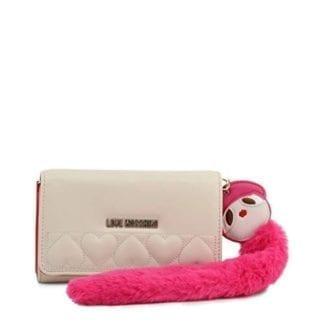 Designer White clutch bag