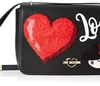 Love Moschino - JC4089PP18LP - The Flashy and Elegant Black Crossbody Bag 8