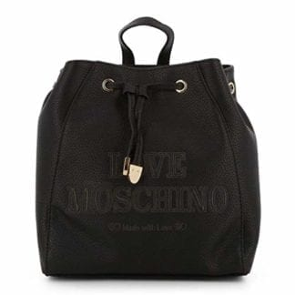 Love Moschino - JC4289PP08KN - Black Backpack Beautiful Design 10