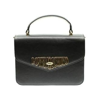 Love Moschino - JC4050PP18LF - One of the Most Beautiful Black Top-Handle Bags out there 1