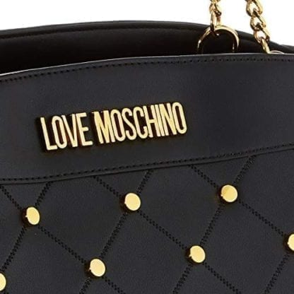 Love Moschino - JC4095PP1ALP - The Black Flashy Top-Handle Bag 3
