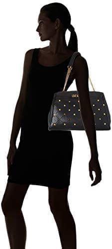 Love Moschino - JC4095PP1ALP - The Black Flashy Top-Handle Bag 6