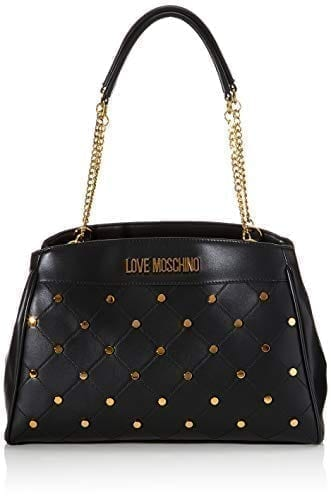 Love Moschino - JC4095PP1ALP - The Black Flashy Top-Handle Bag 1