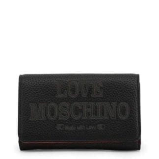 Love Moschino - JC5646PP08KN - the Grey Clutch Bag Made with Love 7