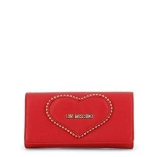 Love Moschino - JC5640PP08KG - Most Loveable Red Clutch Handbag 3