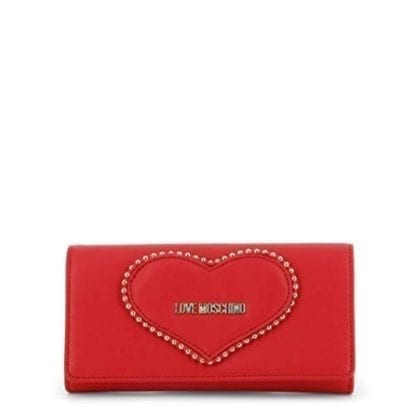 Love Moschino - JC5640PP08KG - Most Loveable Red Clutch Handbag 1