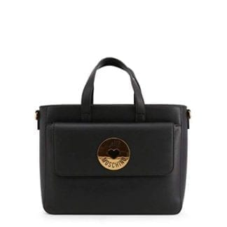The Best Black Love Moschino Top-Handle Bag - JC4048PP1ALG 3