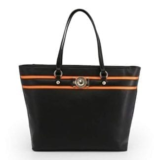 Versace Jeans Shopping Bag - E1VTBBF7_71093 Black and  Beautiful 6