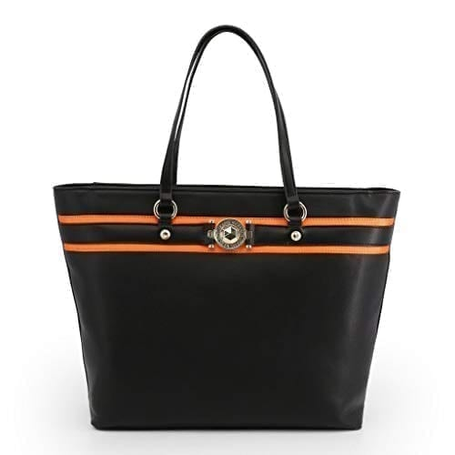 Versace Jeans Shopping Bag - E1VTBBF7_71093 Black and  Beautiful 1