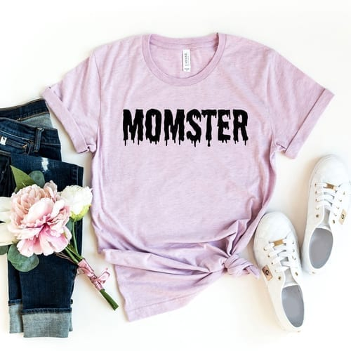 Simple but True Momster T-Shirt 1